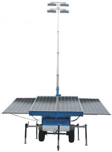 Solar-Mobile-street-light-news Torres Móviles con Iluminación Solar