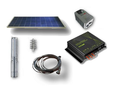 kit-solar-water-pump Bombas de Agua Solares