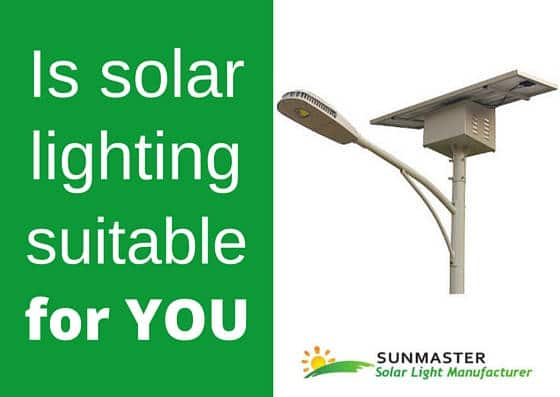is-solar-lighting-suitable-for-you Blog Energía Solar