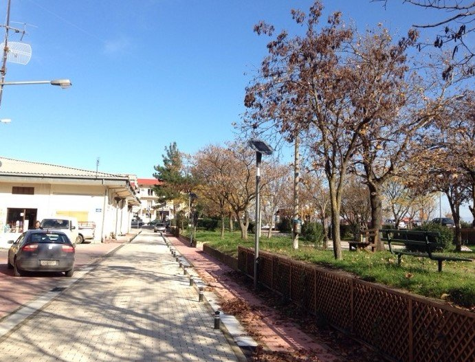 decorative Decorative Solar Lights Installed in Greece