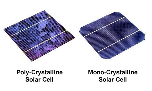 Monocrystalline And Polycrystalline Solar Lights