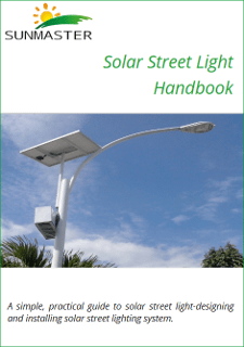 AnteprimaEbook Sunmaster - Solar street light