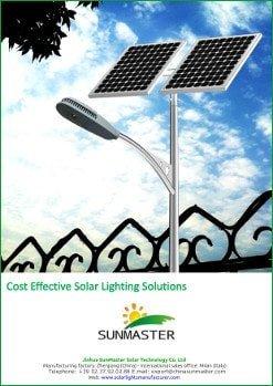SolarStreet Lista de Precios