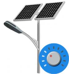 Solar-Street-Lights-Dimmer Solar Street Lights for the Desert